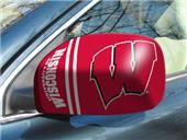 Fan Mats Univ. of Wisconsin Small Mirror Covers