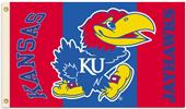 COLLEGIATE Kansas Jayhawks 2-Sided 3' x 5' Flag