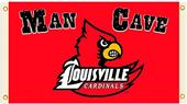 Collegiate Louisville Man Cave 3' x 5' Flag