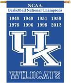 "COLLEGIATE Kentucky Champ 2-Sided 28"" x 40"" Banner"