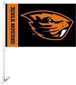 "COLLEGIATE Oregon State 2-Sided 11"" x 18"" Car Flag"