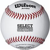 Wilson A1150 Select Series Rec Flat Seam Baseballs