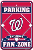 MLB Washington Nationals Plastic Parking Sign