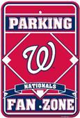 MLB Washington Nationals Plastic Parking Sign