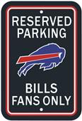 BSI NFL Buffalo Bills Reserved Parking Sign