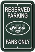 BSI NFL New York Jets Reserved Parking Sign