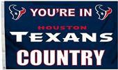 BSI NFL Houston Texans Country 3' x 5' Flag