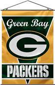 "BSI NFL Green Bay Packers 28"" x 40"" Wall Banner"