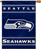 "BSI NFL Seattle Seahawks 28"" x 40"" House Banner"