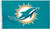 BSI NFL Miami Dolphins 3' x 5' Flag w/Grommets