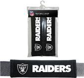 BSI NFL Oakland Raiders Seat Belt Pads (2Pk)