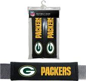 BSI NFL Green Bay Packers Seat Belt Pads (2Pk)