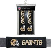 BSI NFL New Orleans Saints Seat Belt Pads (2Pk)