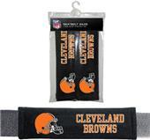 BSI NFL Cleveland Browns Seat Belt Pads (2Pk)
