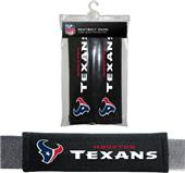 BSI NFL Houston Texans Seat Belt Pads (2Pk)