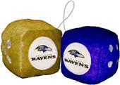 BSI NFL Baltimore Ravens Fuzzy Dice