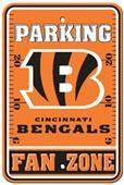 BSI NFL Cincinnati Bengals Fan Zone Parking Sign