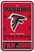 BSI NFL Atlanta Falcons Fan Zone Parking Sign