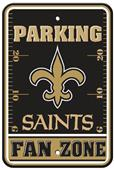BSI NFL New Orleans Saints Fan Zone Parking Sign