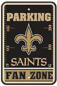 BSI NFL New Orleans Saints Fan Zone Parking Sign