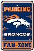 BSI NFL Denver Broncos Fan Zone Parking Sign