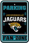 BSI NFL Jacksonville Jaguars Fan Zone Parking Sign