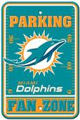 BSI NFL Miami Dolphins Fan Zone Parking Sign
