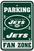 BSI NFL New York Jets Fan Zone Parking Sign