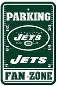 BSI NFL New York Jets Fan Zone Parking Sign