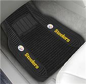 Fan Mats Pittsburgh Steelers Deluxe Car Mats (set)