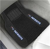 FanMats New England Patriots Deluxe Car Mats (set)