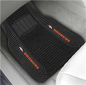 Fan Mats Denver Broncos Deluxe Car Mats (set)