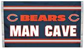 BSI NFL Chicago Bears Man Cave 3' x 5' Flag
