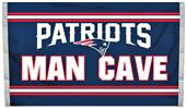 BSI NFL New England Patriots Man Cave 3' x 5' Flag