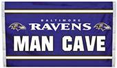 BSI NFL Baltimore Ravens Man Cave 3' x 5' Flag