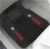 Fan Mats Chicago Cubs Deluxe Car Mats (set)