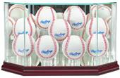 """Perfect Cases """"9 Baseball"""" Octagon Display Cases"""