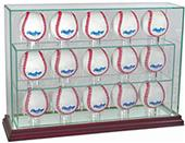 "Perfect Cases ""15 Baseball"" Upright Display Cases"