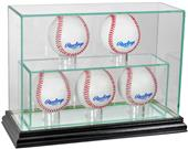 "Perfect Cases ""5 Baseball"" Upright Display Cases"