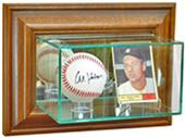 Perfect Cases Wall Mounted Card/Baseball Display