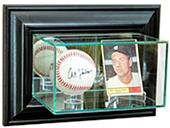 Perfect Cases Wall Mounted Card/Baseball Display