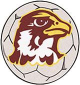 Fan Mats Quincy University Soccer Ball Mat