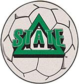 Fan Mats Delta State University Soccer Ball Mat