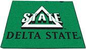 Fan Mats Delta State University Tailgater Mats