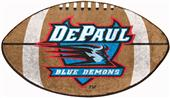Fan Mats DePaul University Football Mat