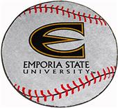 Fan Mats Emporia State University Baseball Mat
