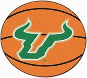Fan Mats Univ. of South Florida Basketball Mat
