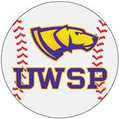 Fan Mats U of Wisconsin-Stevens Point Baseball Mat