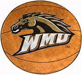 Fan Mats Western Michigan Univ. Basketball Mat