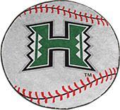 Fan Mats University of Hawaii Baseball Mat